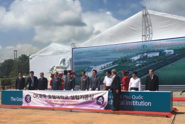 Lễ khởi công xây dựng trường đào tạo nghề Phú Quốc Taekwang