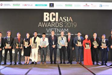 Top Vietnamese architects, property developers win BCI Asia Awards