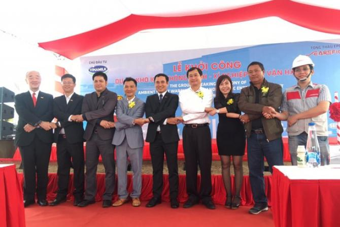 """IDCo's Leaders attended the Construction Commencement Ceremony of the """"Smart Warehouse"""" -  Investor: Vinamilk"""
