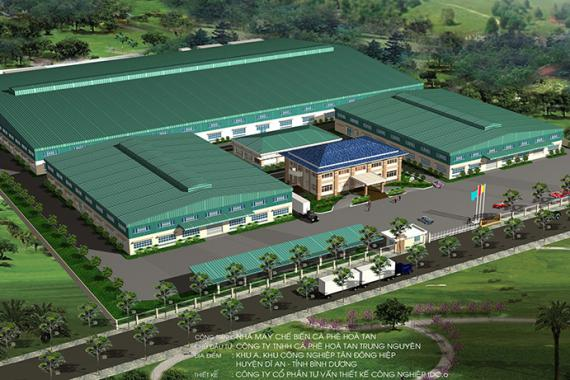 TRUNG NGUYEN COFFEE PLANT - PHASE 1